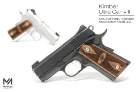 Mafioso Kimber Ultra Carry II 鋼製 瓦斯手槍
