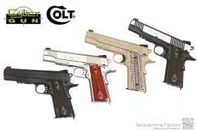 Cybergun Colt M1911 Rail Gun CO2 GBB Pistol 全系列
