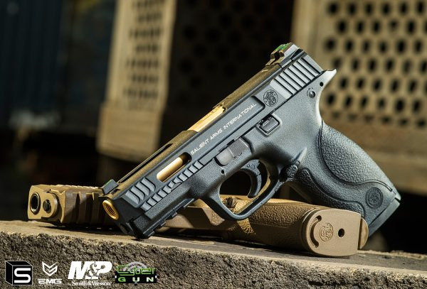 SAI、S&W 聯合授權! EMG / Cybergun – M&P Full Size SAI特仕版