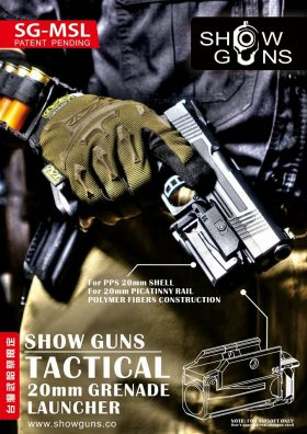 Show Guns – Tactical 20mm Grenade Luncher 下掛式手槍小型榴彈發射器