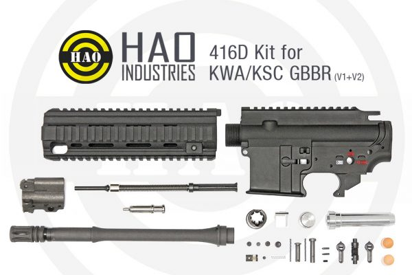 HAO – 416D Kit for KWA/KSC GBBR (V1/V2)