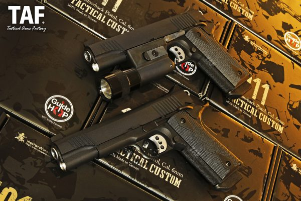 VFC KIMBER-Style 1911 Tactical Custom GBB